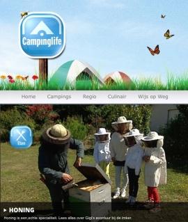 Campinglife Bijen