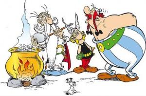 Asterix en het suikerwater?